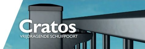 Cratos - Vrijdragende draaipoorten