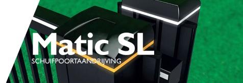Matic SL - Schuifpoortaandrijving